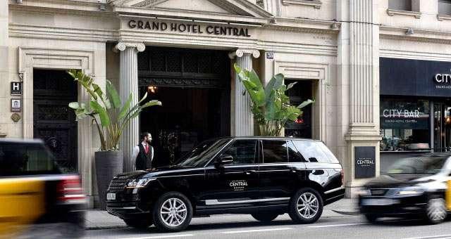 Grand Hotel Central 5 Sterne Hotel Barcelona Website